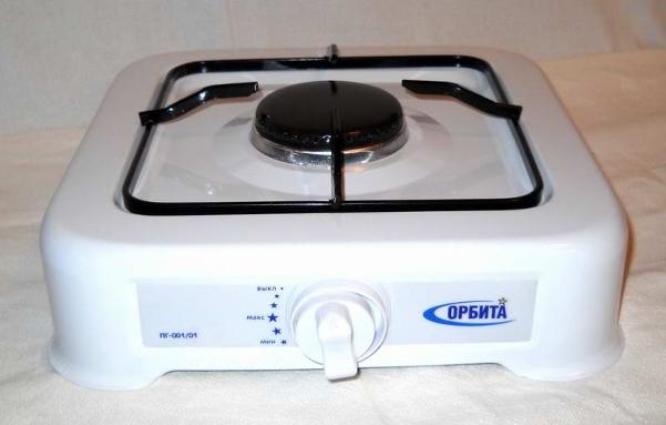 Настольная одноконфорная газовая плита